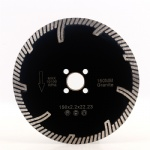 6 inch hot press diamond circular saw blade with protected segments 150mm for granite diamond cutting disc