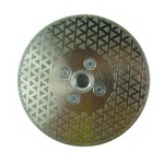 5 Inch Marble Diamond Blade cutting disc tool with Quad Adapter